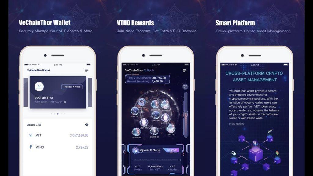 vechain app wallet