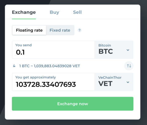 changelly screenshot